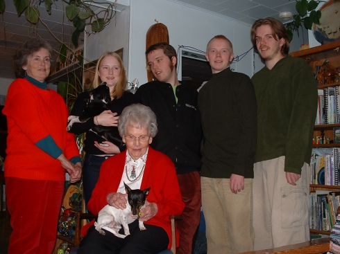 Christmas, maybe 2003?
