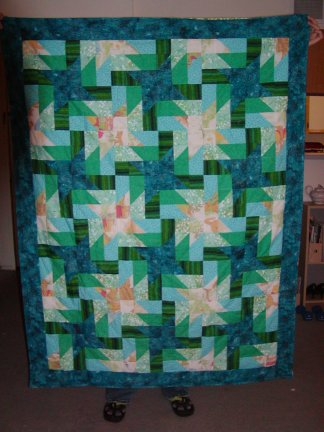complete baby quilt