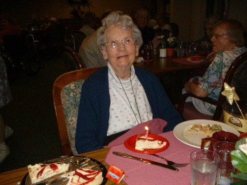 94th birthday - June 16, 2004