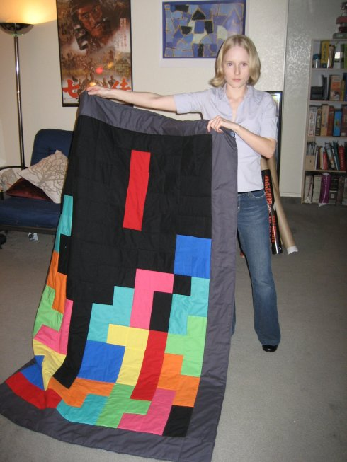 I made this here quilt