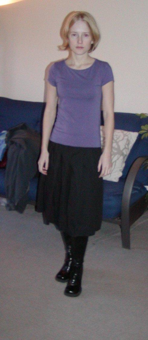 huge skirt