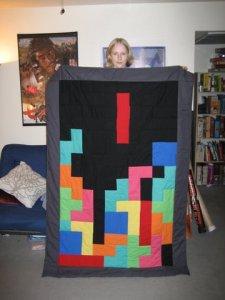 Tetris Quilt Feb 2007