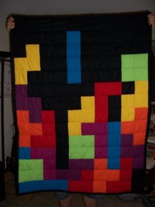 Tetris Quilt from Sew-therapy