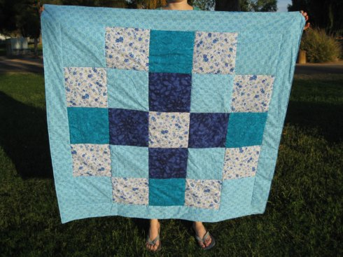 Picnic basket quilt - August 09