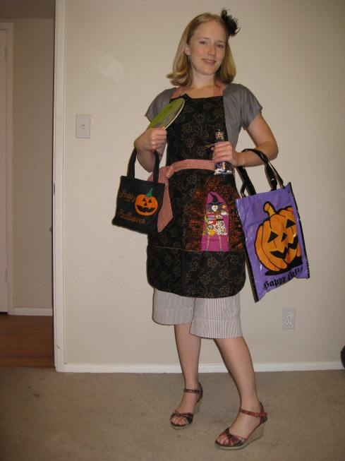 Halloween apron swap 2009