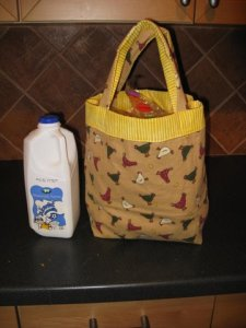 lunch bag - chickens perspective