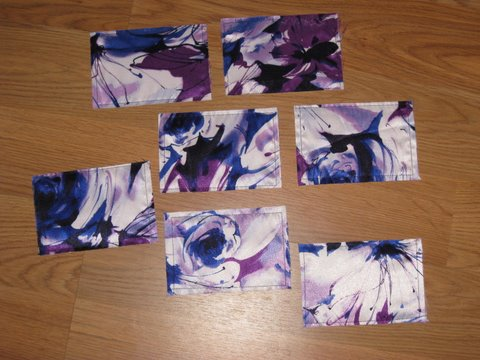 watercolor purple cards