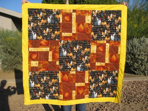 Chicken Quilt II Nov 2009