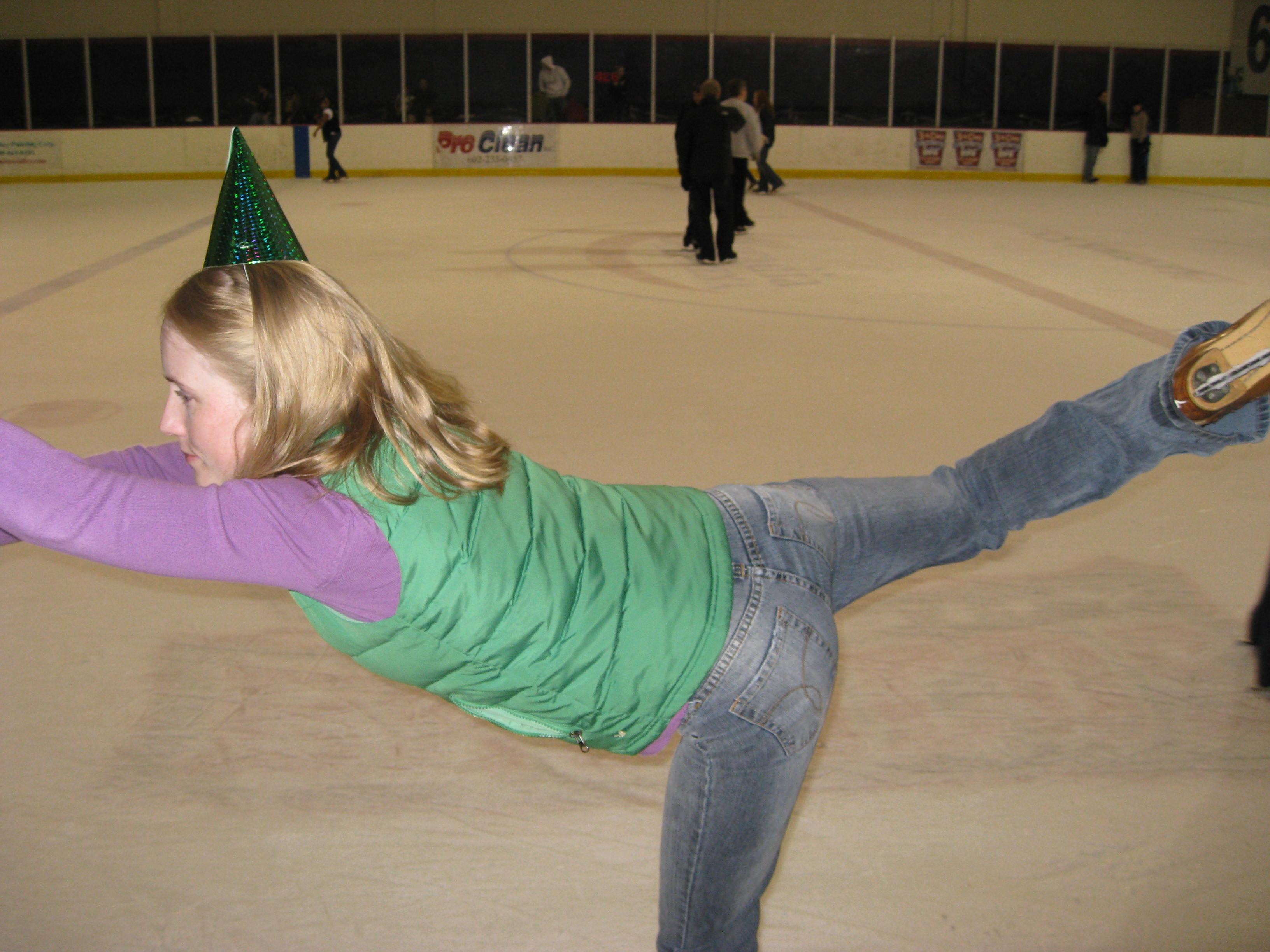 Figure Skating Oops