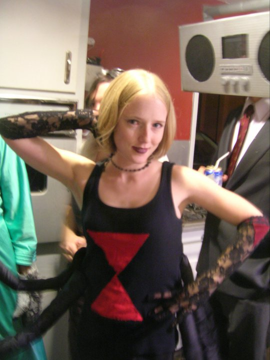 halloween costume black widow i