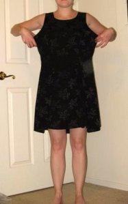 black shift dress before headless