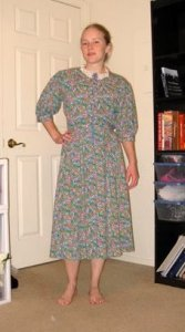 prairie dress before