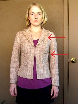 tan tweed jacket before