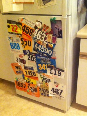 coffeemaker race bib numbers