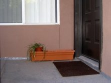 door planter before side view