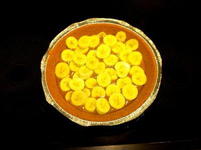 banoffee pie banana layer