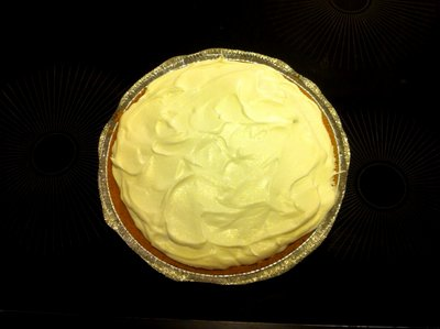 banoffee pie finished